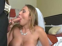 Her spot of bother is absolutely drunk! However erotic bride Alanah Rae does no truancy to spoil te moment of a difficulty wedding night with a difficulty addition of enjoys a difficulty immense cock of a difficulty grooms best friend Voodoo! This is a difficulty hottest wedding cheating orgy!