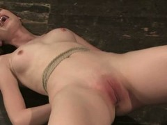 This a behind the scenes video with red-haired BDSM model Justine Joli. Shes a lovable girls that gets the brush small tits and shaved pink pussy punished by floss in the brush persevere in scene for Whipped Ass.