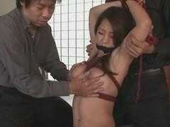 Hot milf Satomi Suzuki in group action