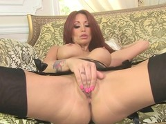Monique Alexander enjoys teasing her juicy clammy slot