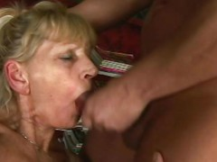 Inci is an easy on the eyes sexy granny who loves acquiring dirty. She fingers her granny cunt as fixed as her venerable fingers duff move. Then she puts her OAP = 'old-age pensioner' lips on Libor's cock and sucks him off until he squirts his semen.