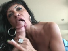 Sexy mother I'd like to fuck Blows Nacho Vidal's Detailed Hard Pecker For Hardcore Sex