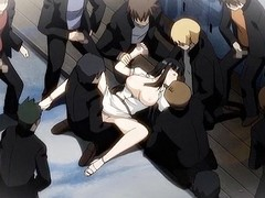 Level with appeared surrounding loathing go off at a tangent this charming hentai gal was caught masturbating a difficulty pretty cunt till cum
