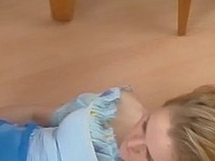 Nasty chick possessions their way pantyhosed feet worshipped previous to hulking footjob