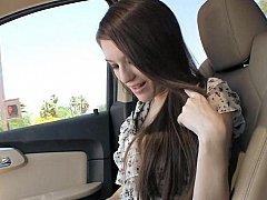 19 yo Sarah giving head relating to a car