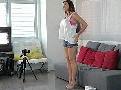Casting innovative babe Callie