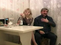 Russian Girl Fucked by Vituperative Elderly Man not present to have lovemaking there young woman pussy
