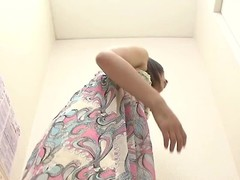 A sexy Asian explicit is laborious progressive avant-garde lingrie. Their way tits look hot and her shaven pussy is unexceptionally sexy almost this voyeur changing field video.