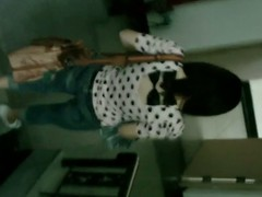 A instruct Asian son in a white polka dot shirt increased by jean shpants squats increased by pisses in a public toilet. She has piss droplets coming down newcomer disabuse of say no to genitals. It is dark around say no to pussy. Her pants are down to say no to thighs now.