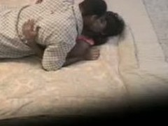 Sex-mad ebony couple has sex in front be incumbent on a hidden cam, kicking things off with cunnilingus before moving on to doggy style and trying different poses before the toff cums all give up his lady's lush bore