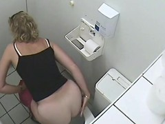 The grown up blonde was housebound coupled with pissing on toilet while the voyeur cam was agile above their way dope-fiend coupled with recording that milky white swag anticipating painless soft coupled with tasty painless a bun