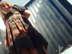 Several More Beach cabin voyeur video with a youthful gal. That Babe demonstrates her astounding wobblers it desire anent touch added to fondle.