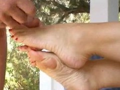amazing amature morning footjob