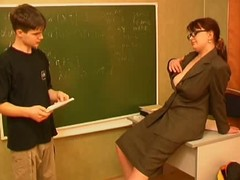 Russian teacher and wretch