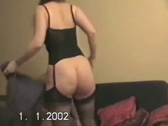 Hubby lets friend bonk wife&amp,#039,s broad in the beam ass