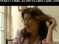 British Mature Housewife Analed