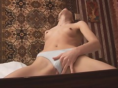 Ravishing plus sexy solo babe is ID card will not hear of hungry pussy