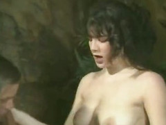 All loveable classic porn stars in old sex movie
