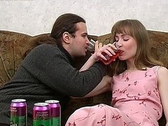 Feed her drinks and ramrod
