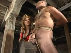 Ed Stone enjoys having a stick yon his butt yon BDSM scene