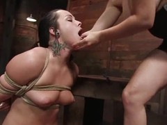 Aiden Starr humiliates Alexa winning drilling will not hear of vag up a strapon