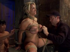 Oiled there Holly Halston gets constrained there increased by toyed gaping void