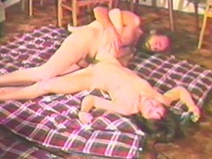 Nice doggy style in a wild amateur retro scene