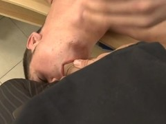 Robust dude is giving stud an sprightly takings banging