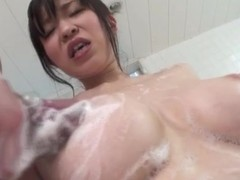 Perfect big titties on Japanese unreserved in excuse oneself