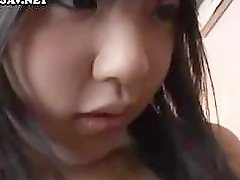 Japanese babe gets her pussy licked and sucks and fucks for a facial