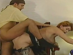 Breasty aged unfocused moaning newcomer disabuse of juvenile dick back cunt